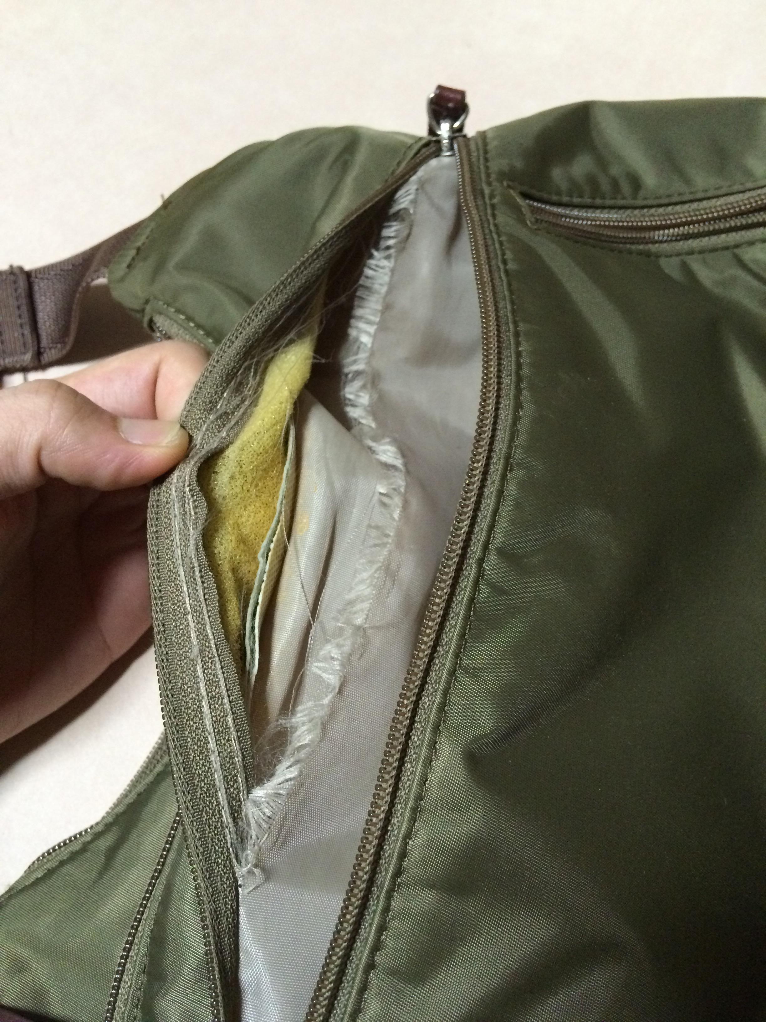 鞄 内袋 修理