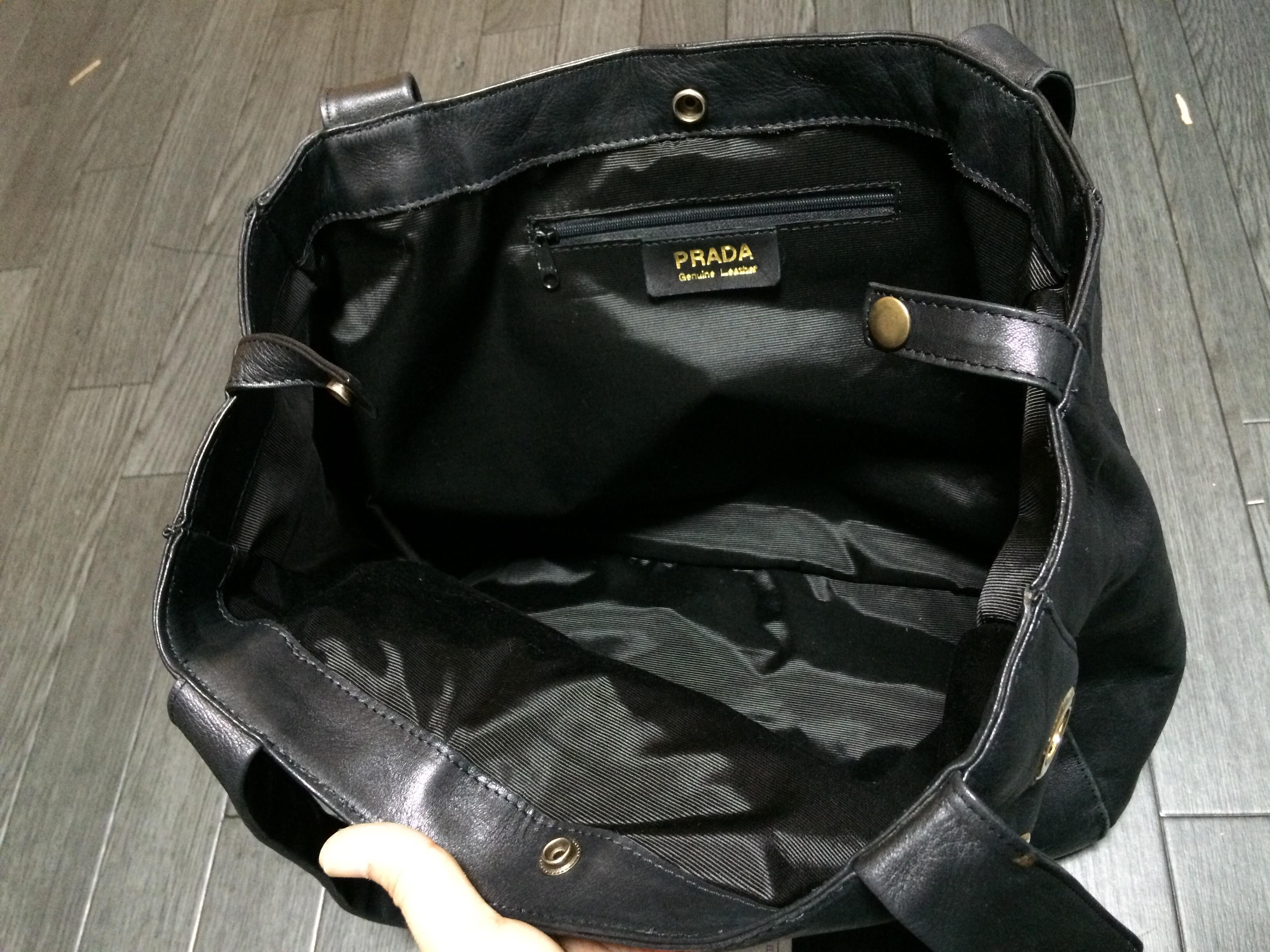 PRADA 鞄修理 内袋