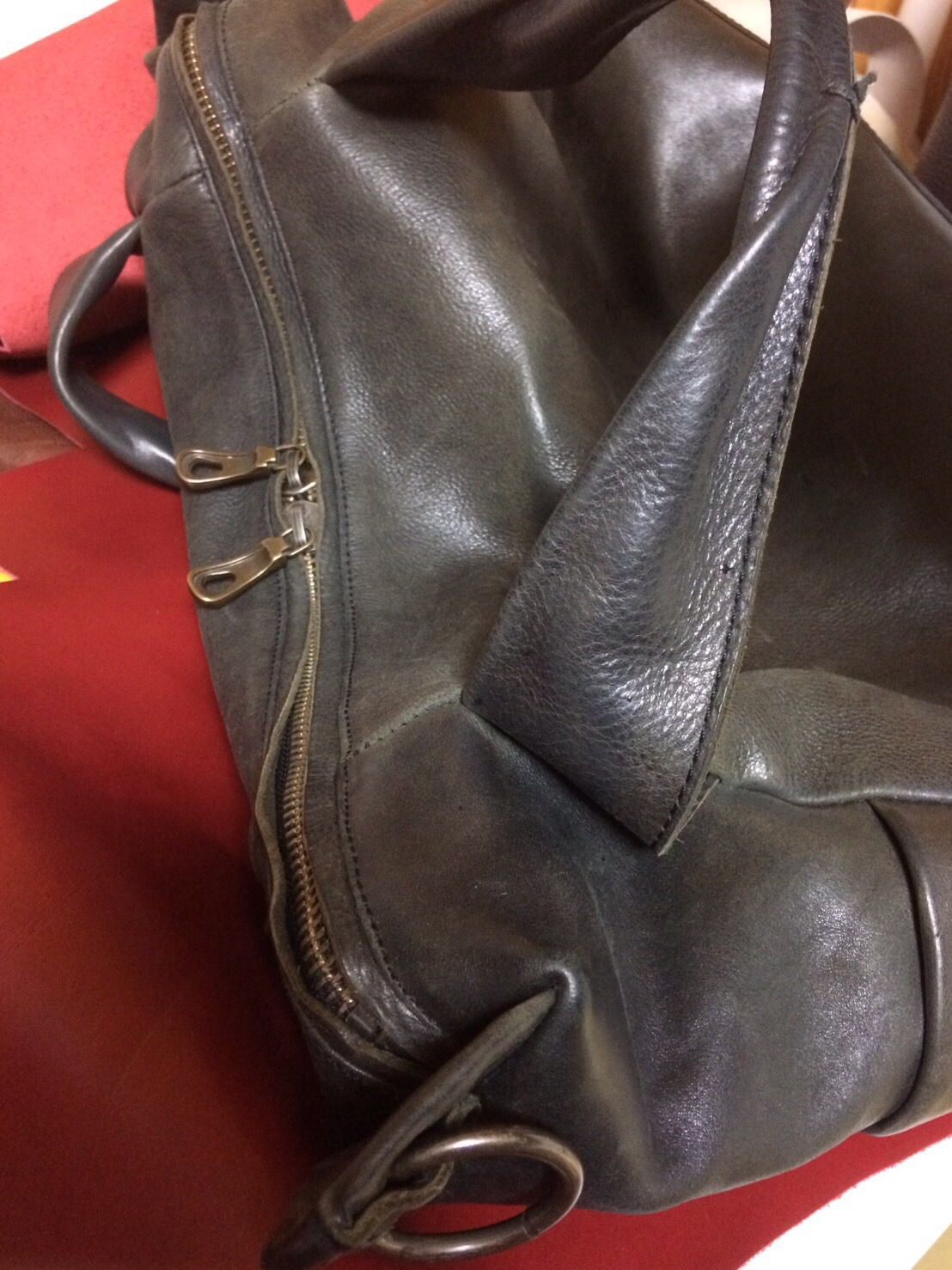 鞄 ホツレ 修理