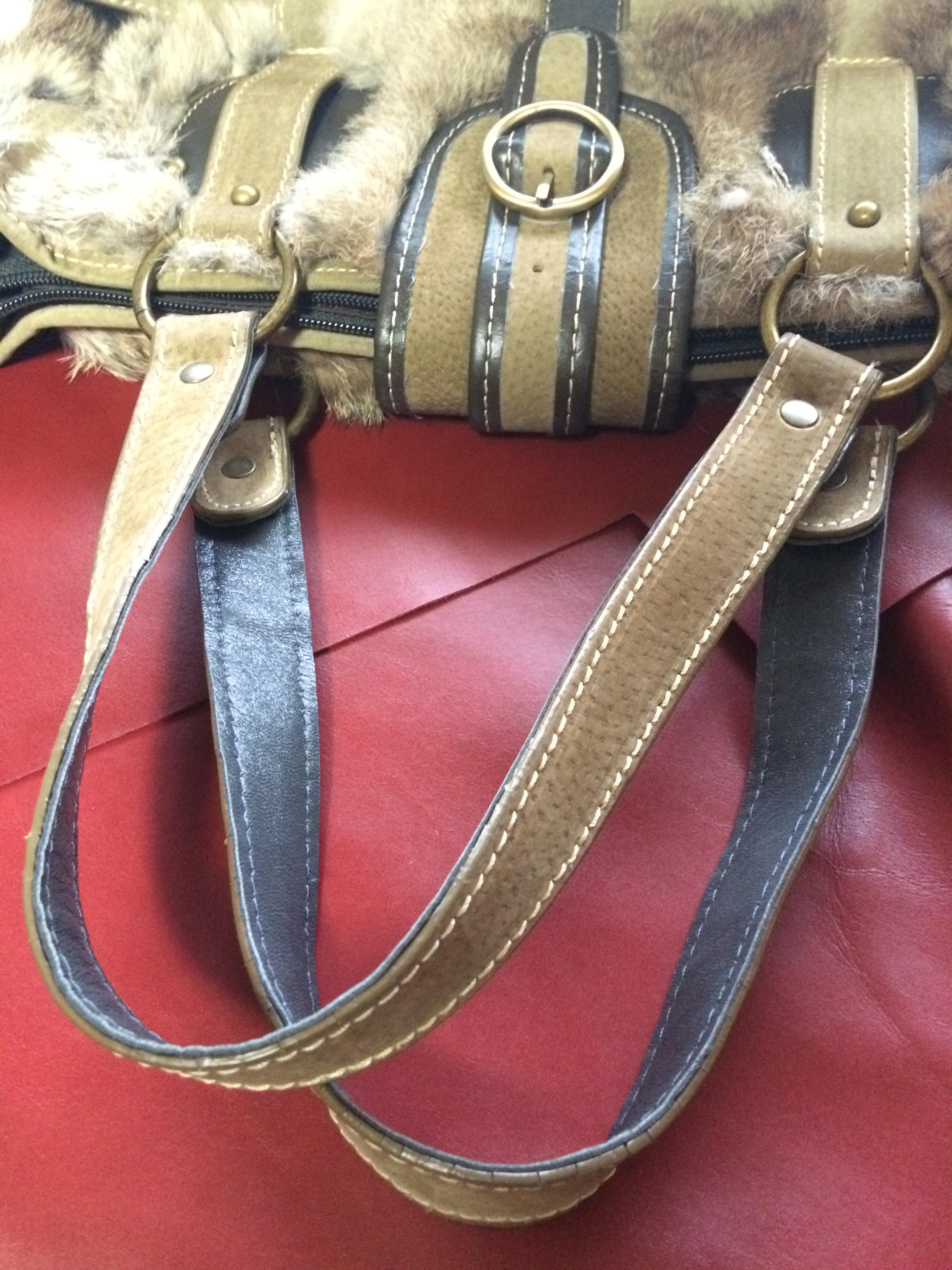 鞄修理 ハンドル 補修