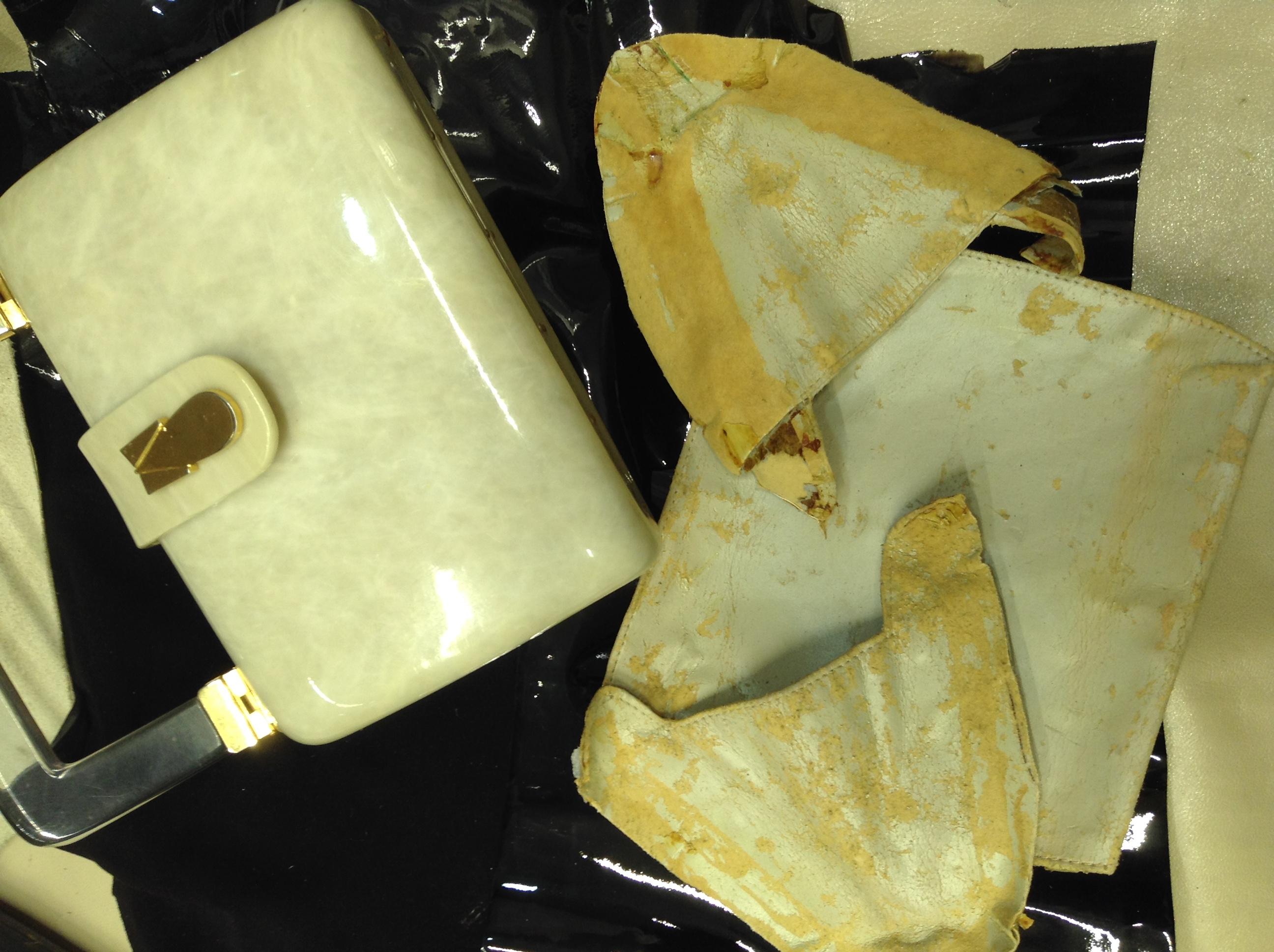 鞄 合皮 修理