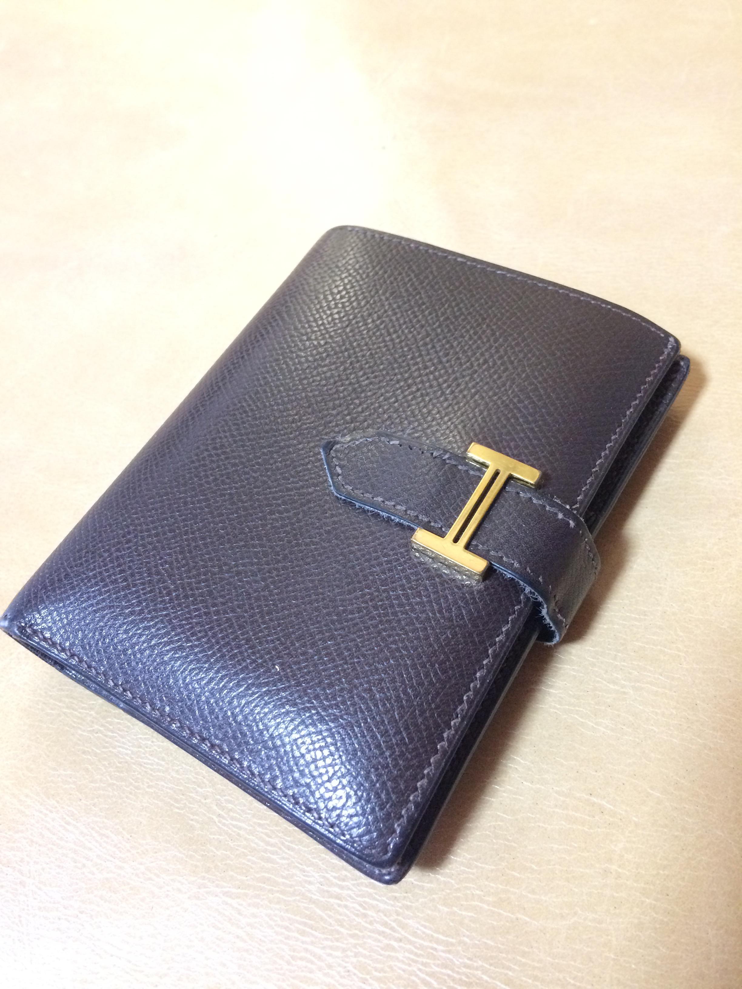 エルメス 財布 修理