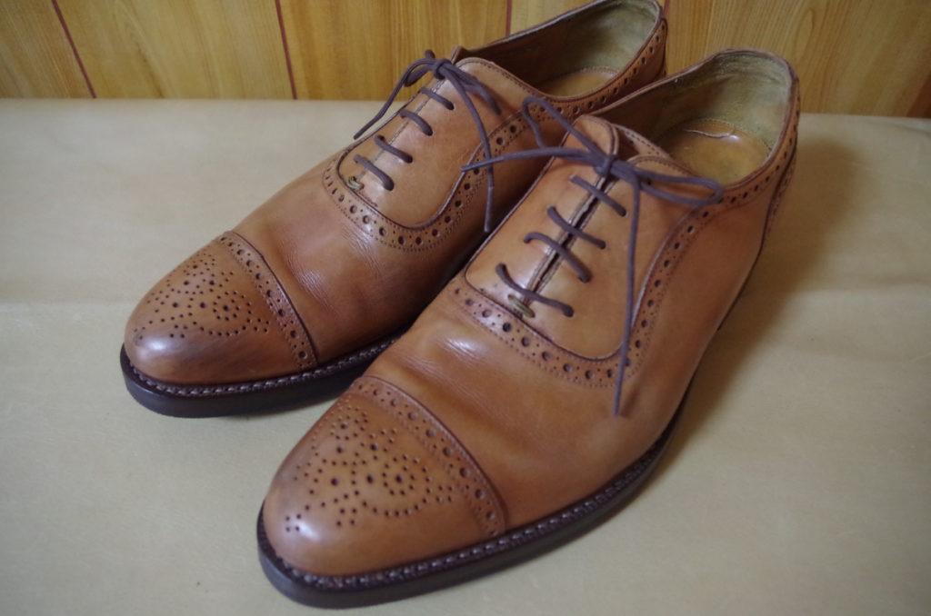 革靴 オールソール