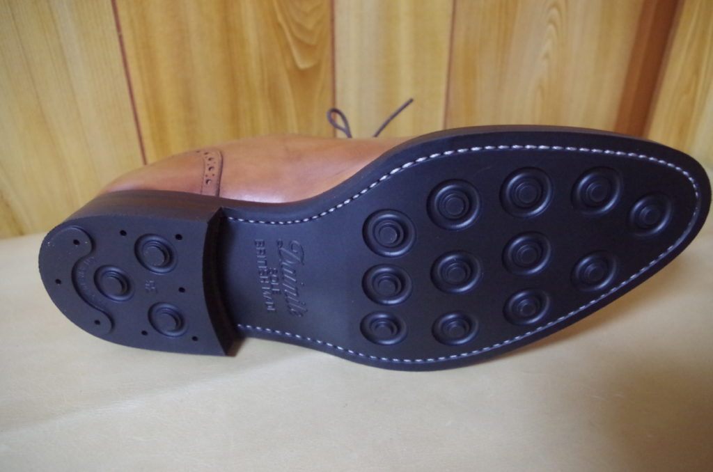 革靴 ダイナイトソール 交換