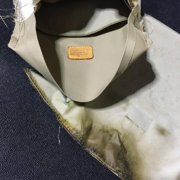 鞄修理 内装