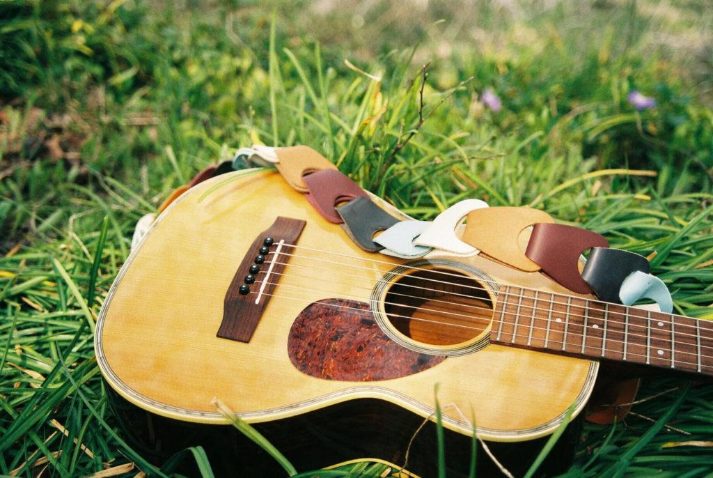 ウロコストラップ ギターストラップ 708works