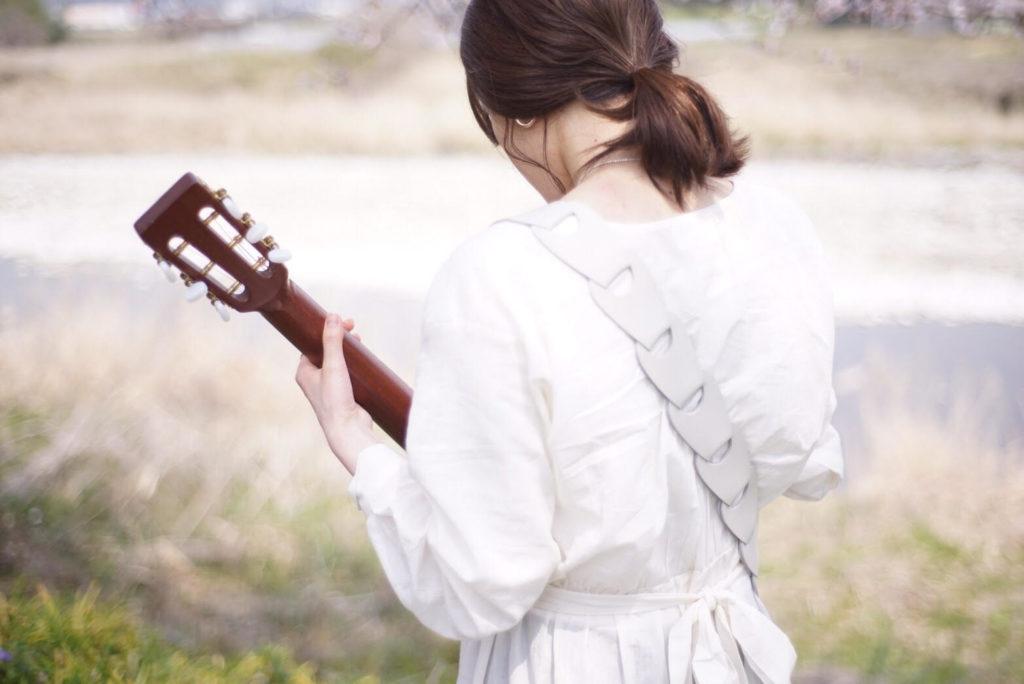 女性 ギターストラップ 708works